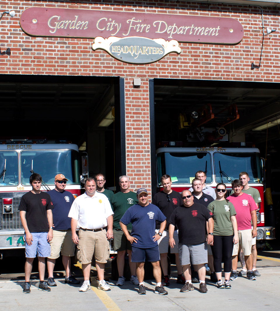 GCFD Group Photo at Headquarters