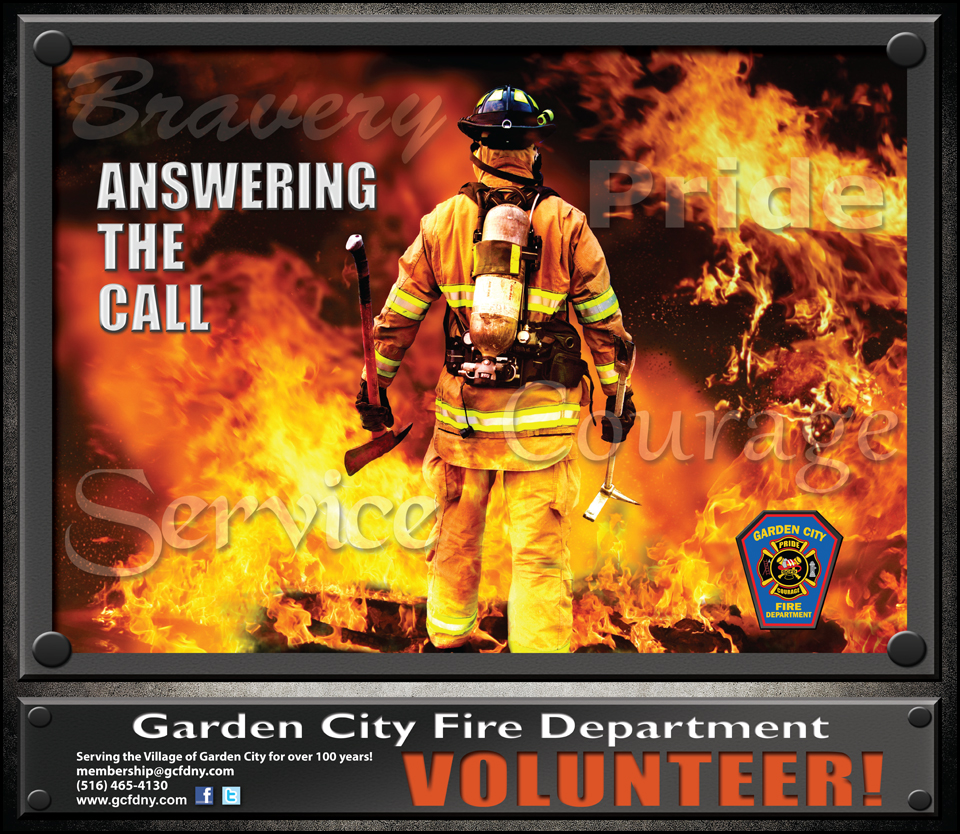 GCFD Recruitment Poster