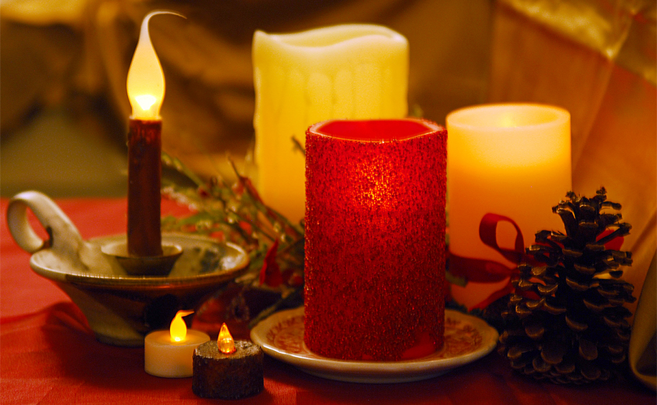 holiday fire safety candles